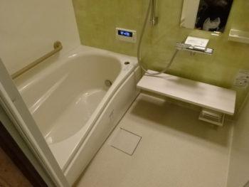 在来浴室→ユニットバスに交換