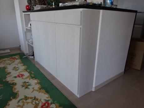 キッチンカウンター下収納